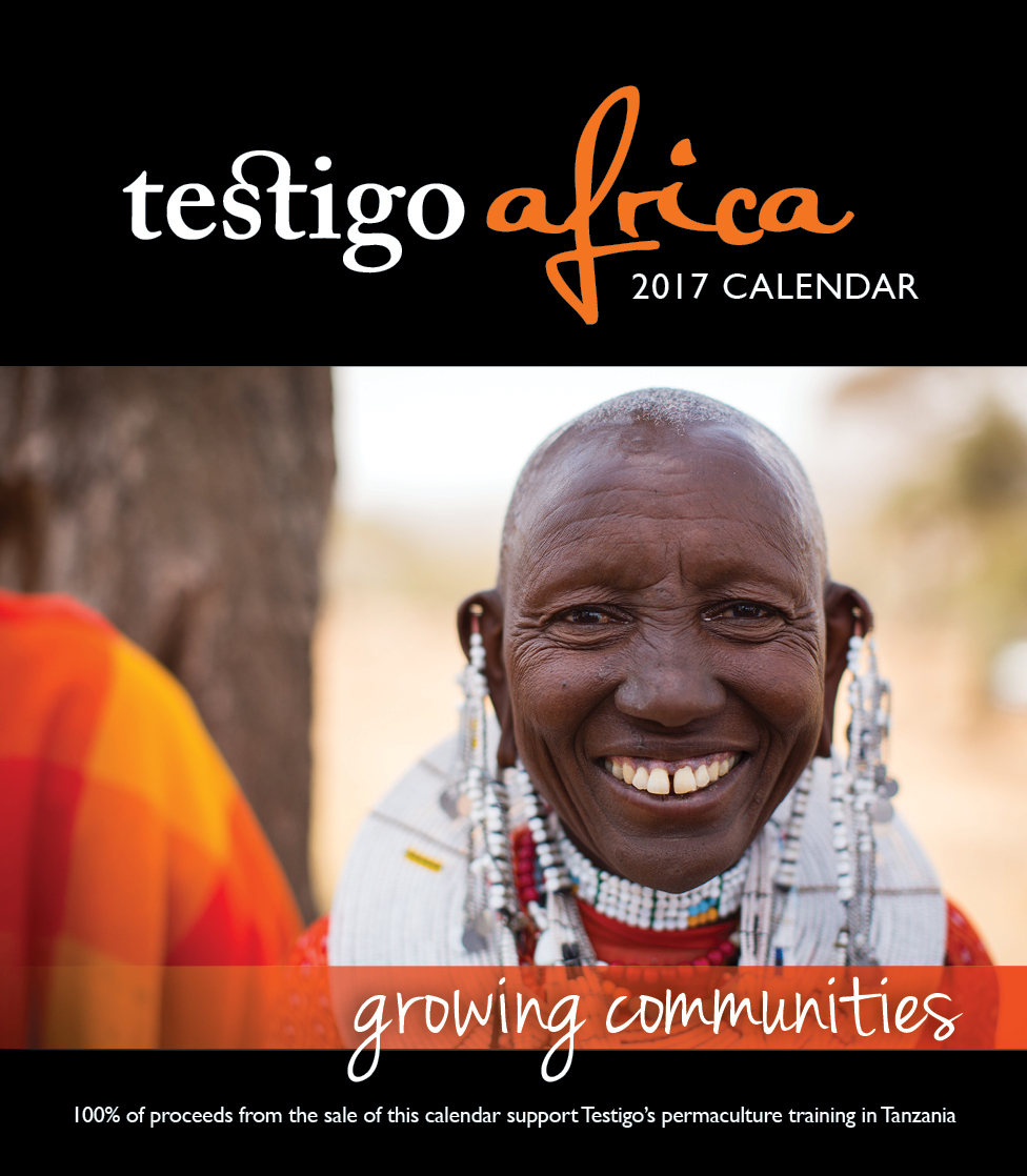 Photo of the 2017 desktop calendar front cover